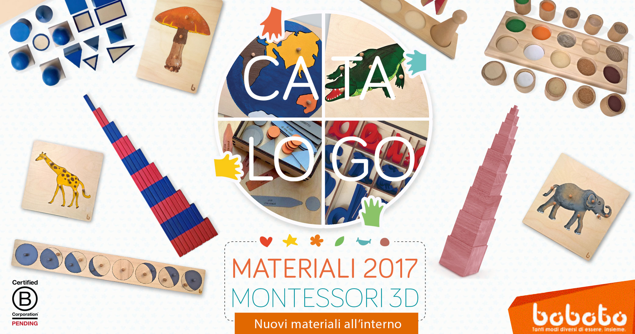 catalogo MONTESSORI 3D 2017